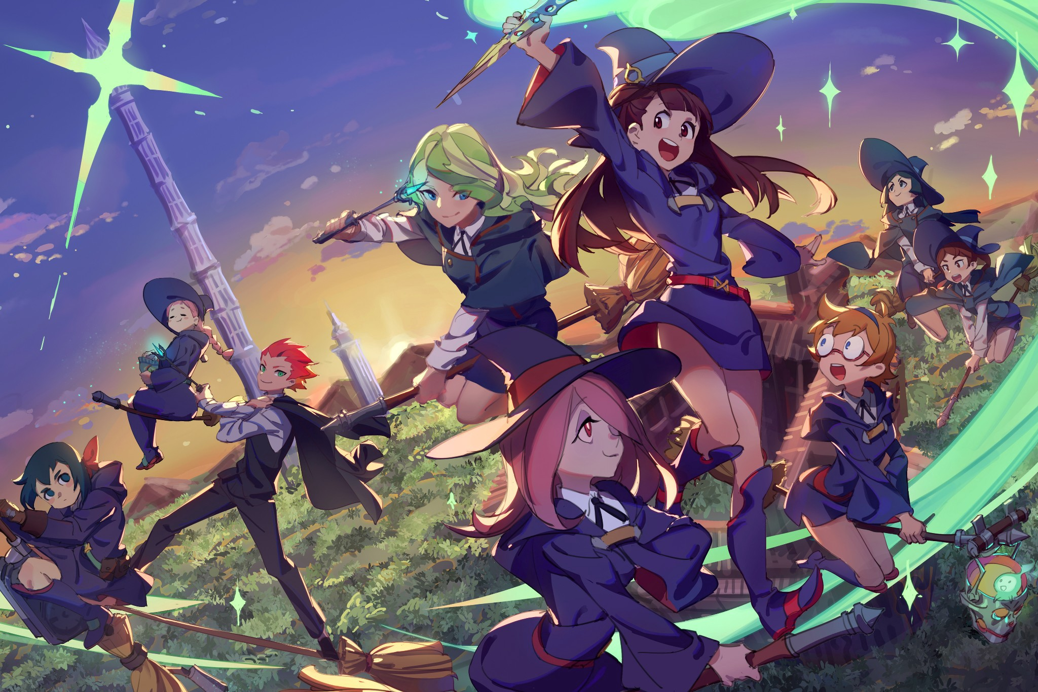 Review — Little Witch Academia: Chamber of Time | by Dirk Buelens | Tasta