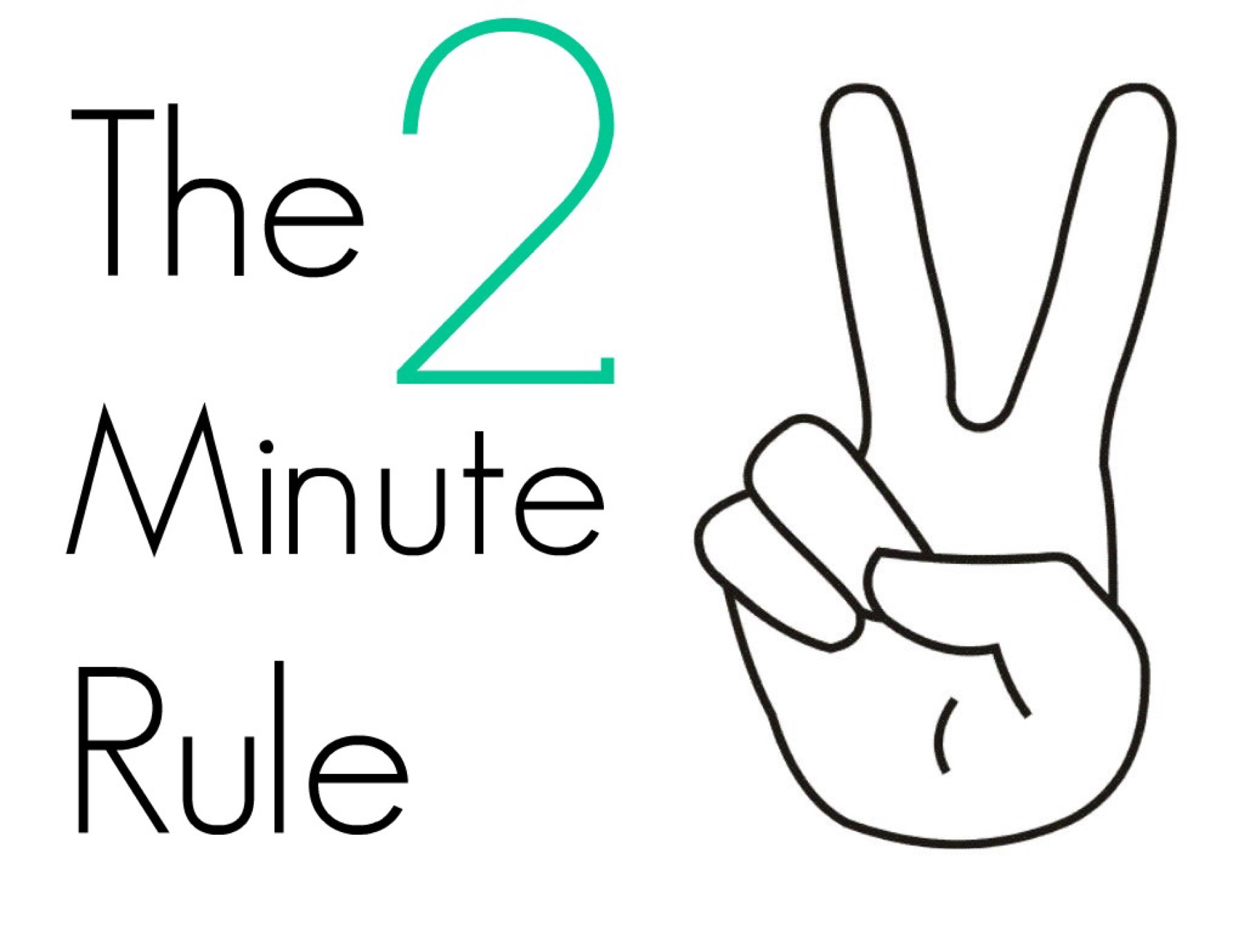 Image result for two-minute rule