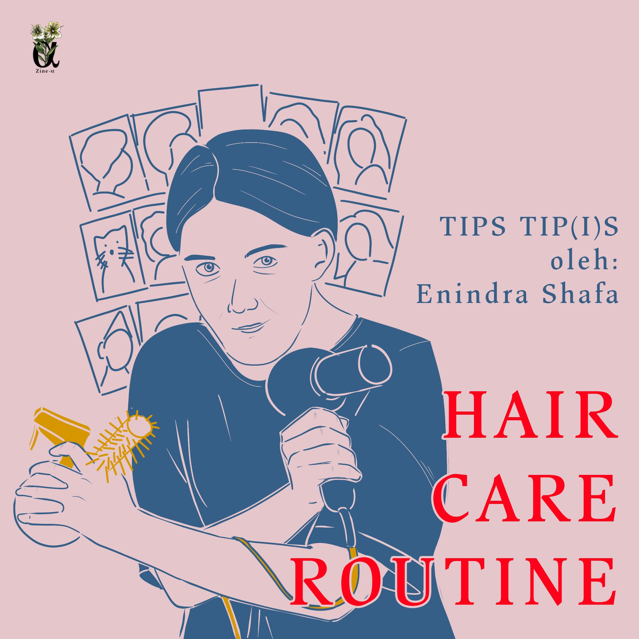 Hair Care Routine Penangkal Rambut Rontok By The Zine A Medium
