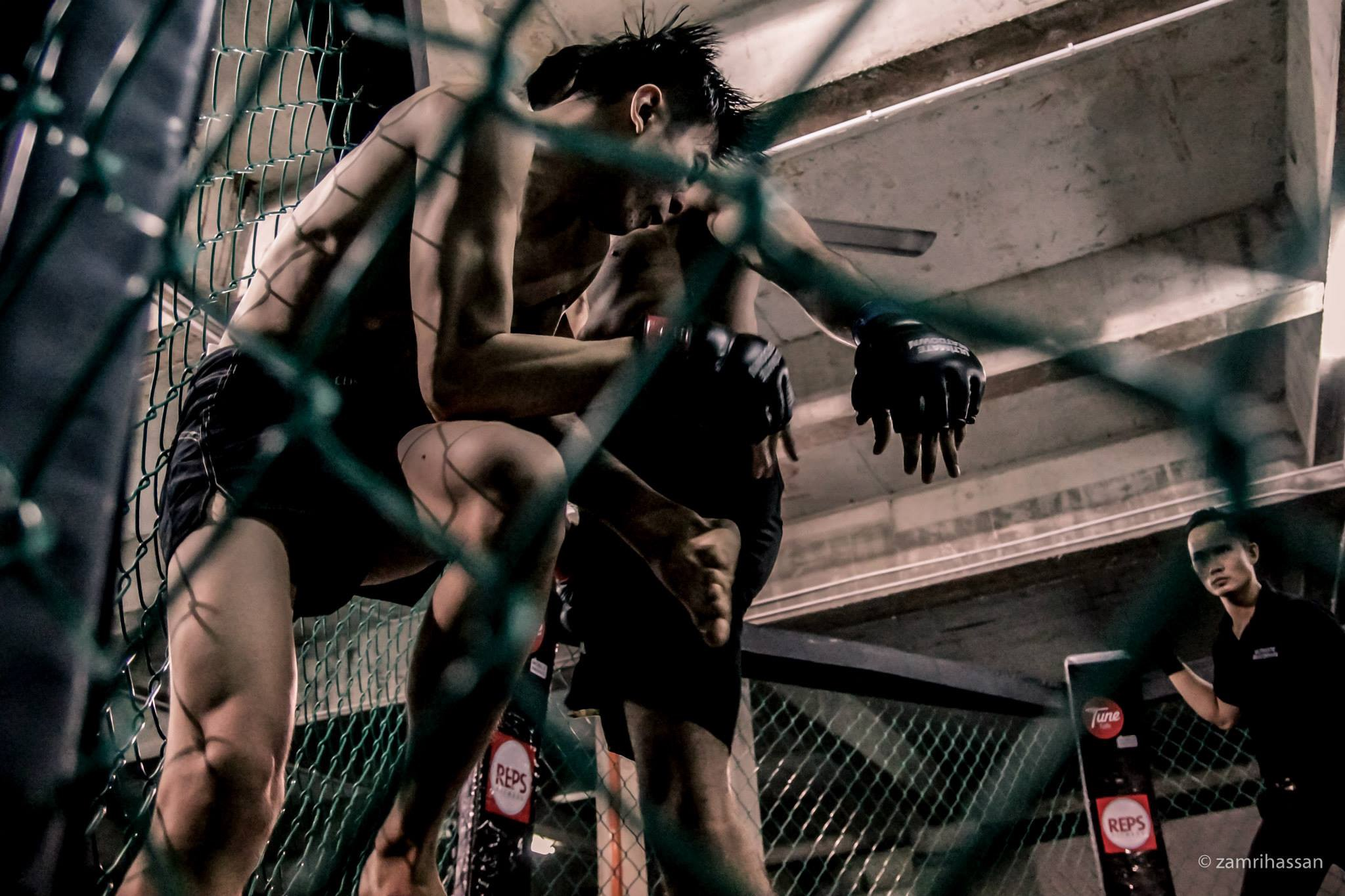 Alvin Ang's first MMA fight Ultimate Beatdown UB 16