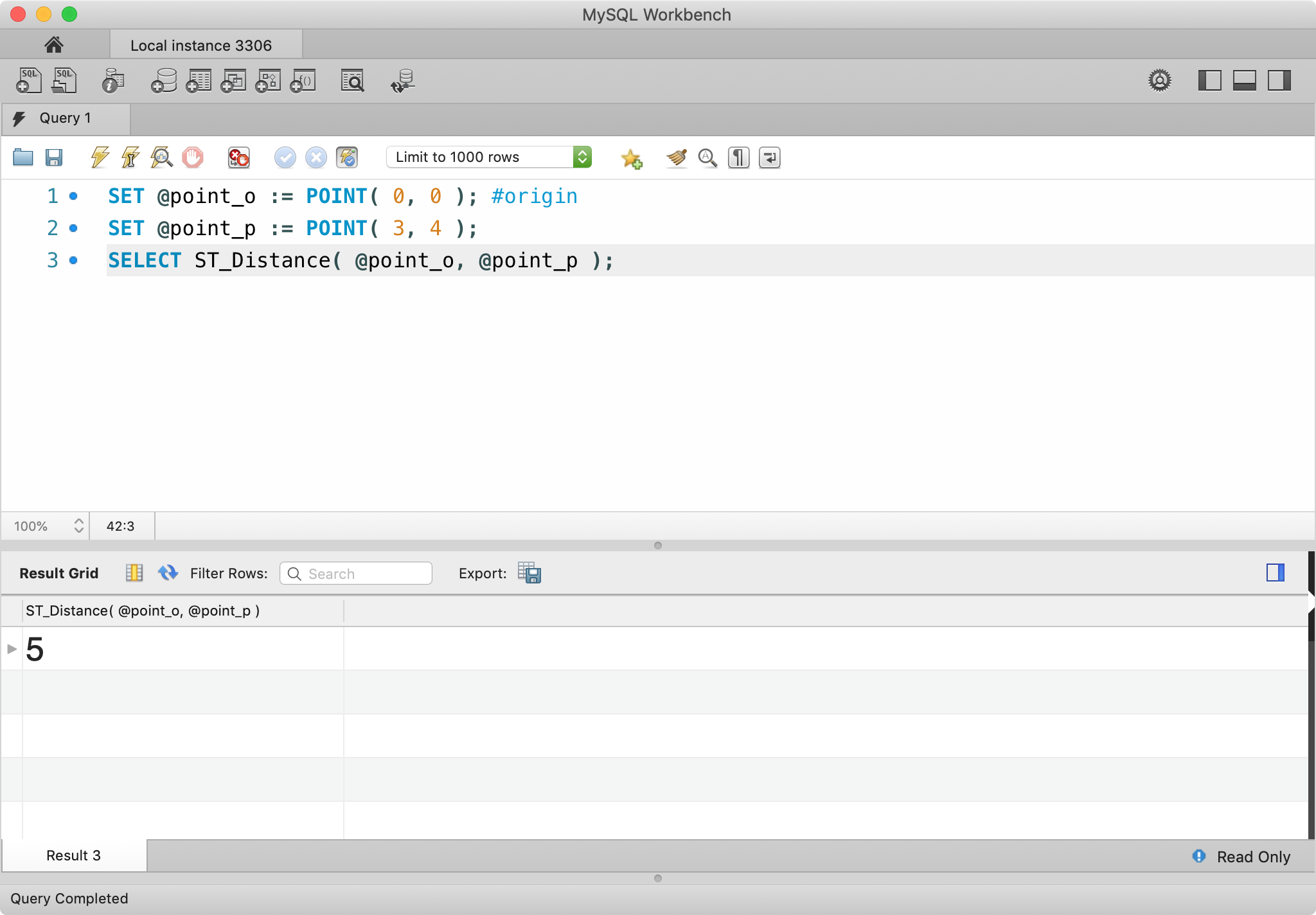 Playing with Geometry/Spatial Data Types in MySQL - ITNEXT