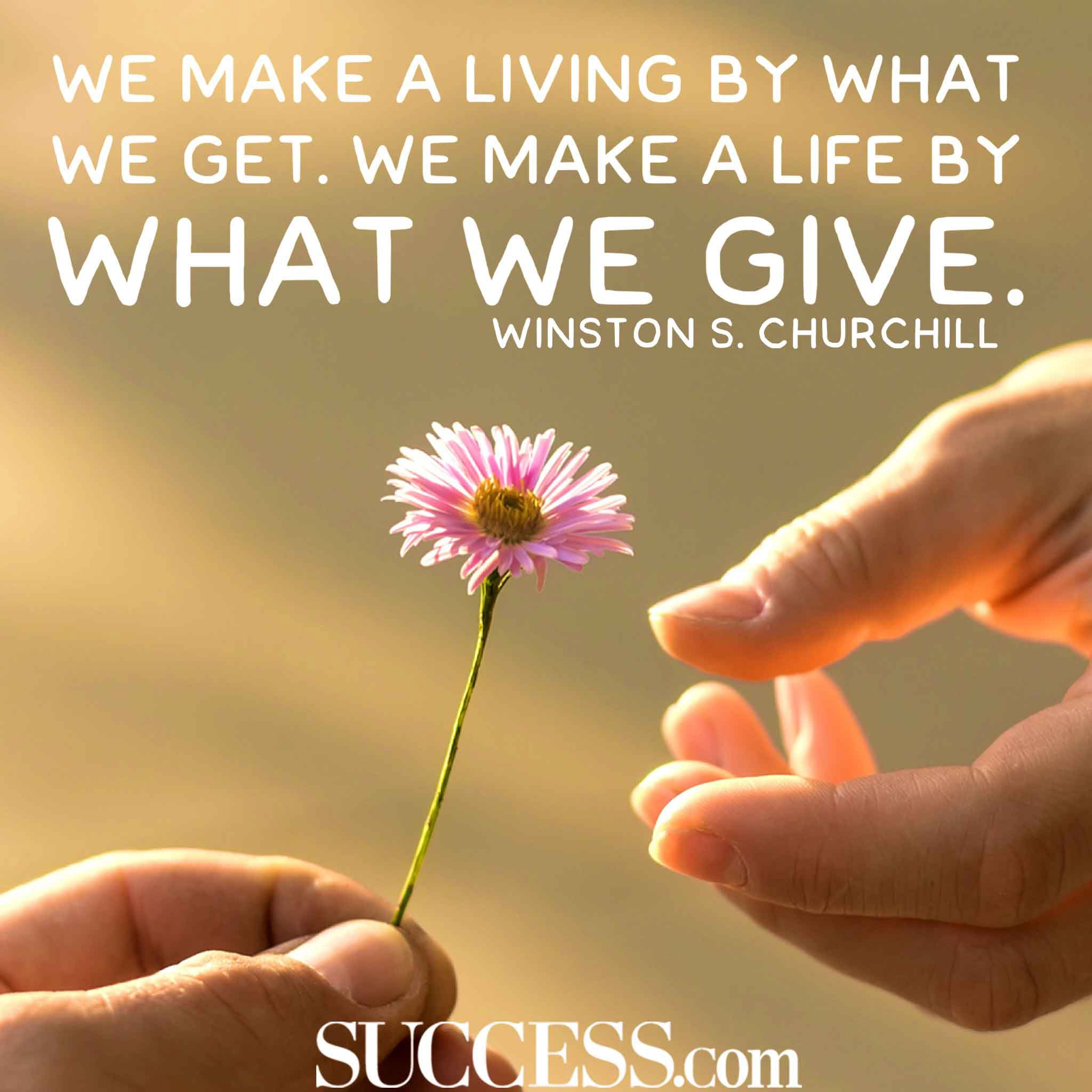 The Joy Of Giving The More You Give The More You Receive By Anirudh B Live Your Life On Purpose Medium