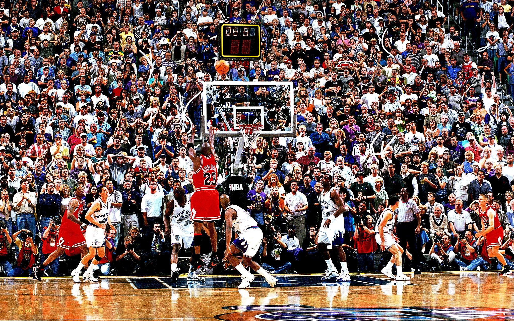 Revisionist History: the '98 Chicago Bulls, and Beyond — NBA
