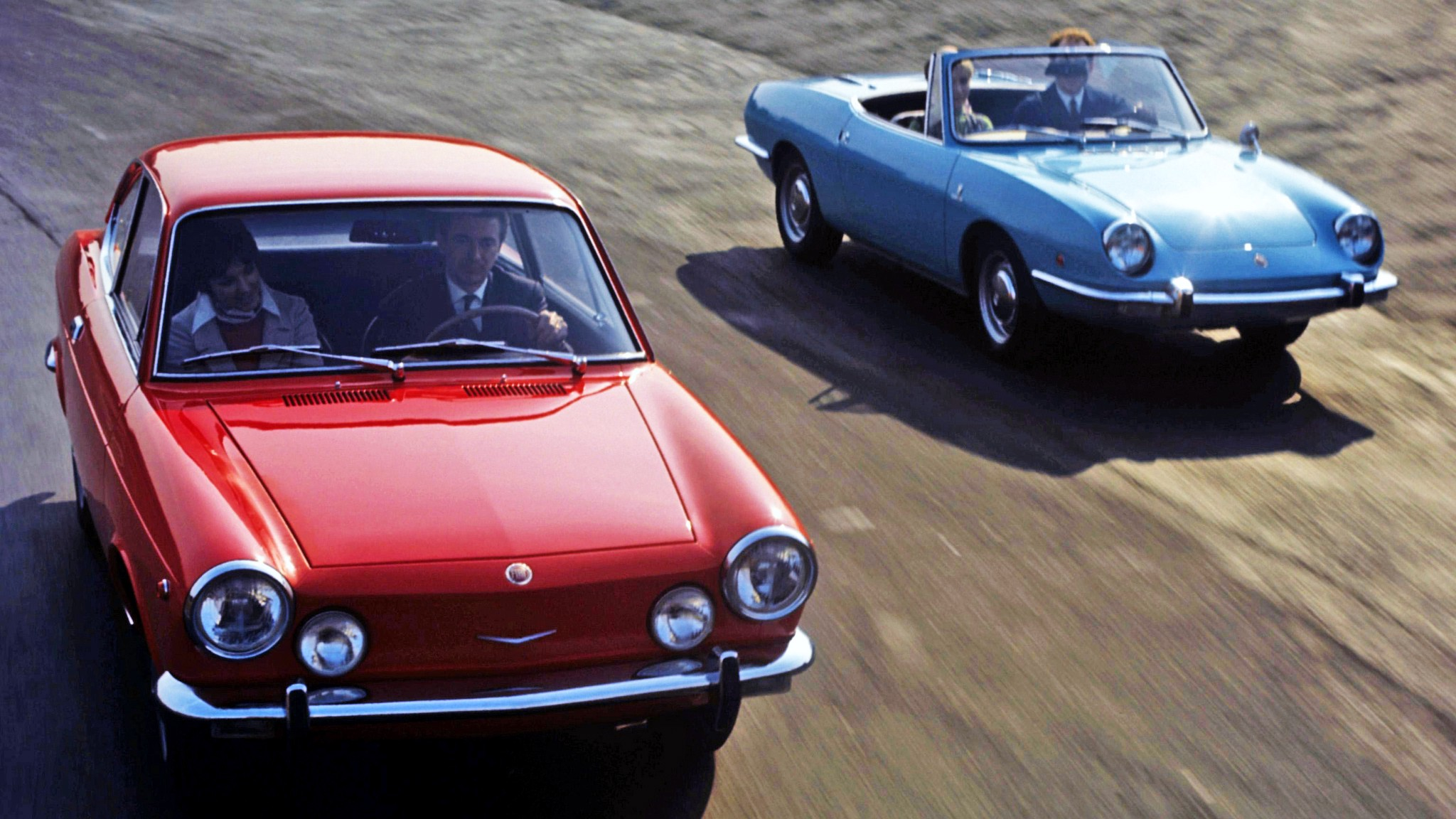 Playing It Safe The Fiat 850 The Fiat 850 Was Launched In 1964 When By Matteo Licata Roadster Life Medium