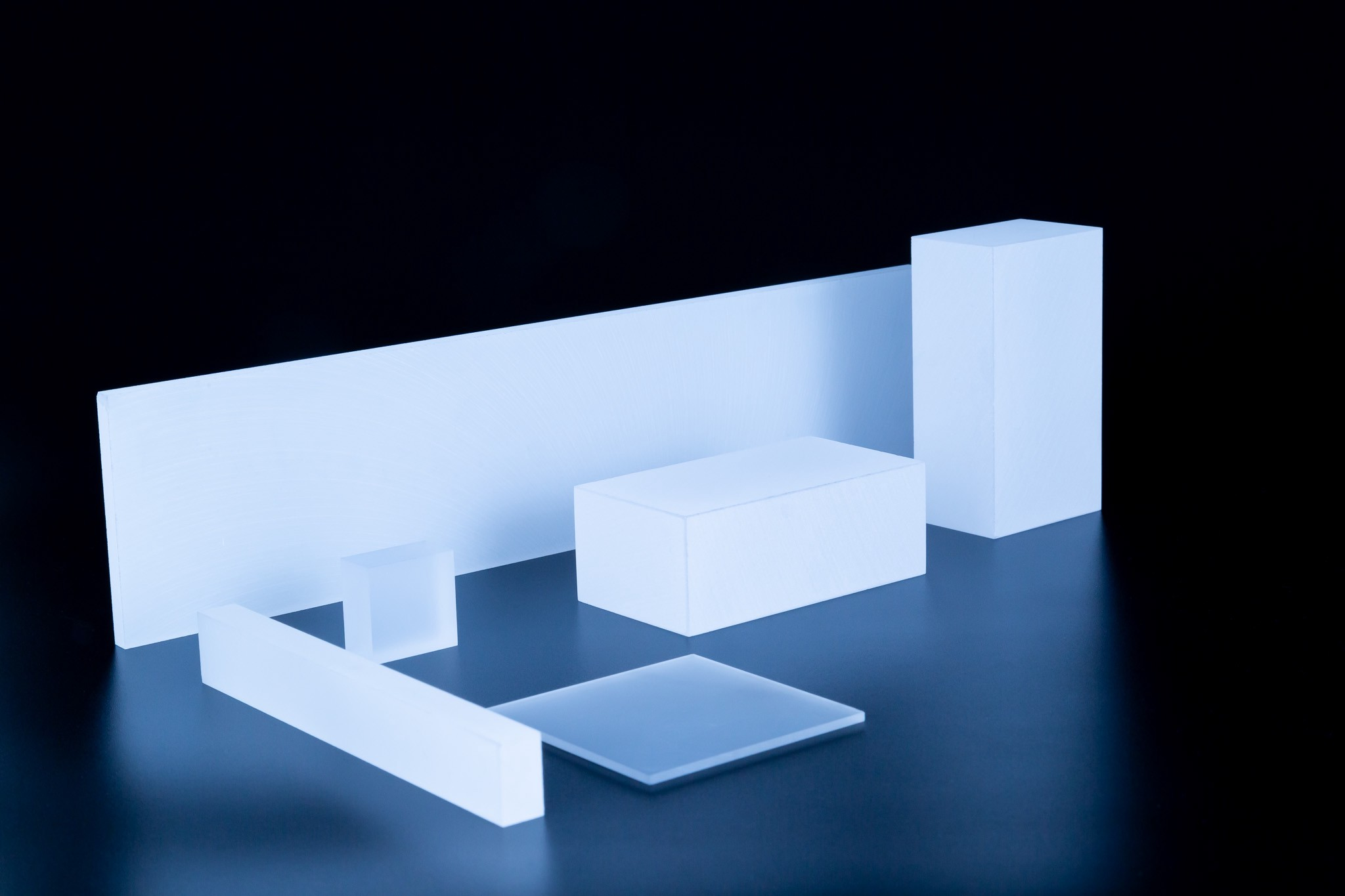 Rectangular Fused Silica Blanks