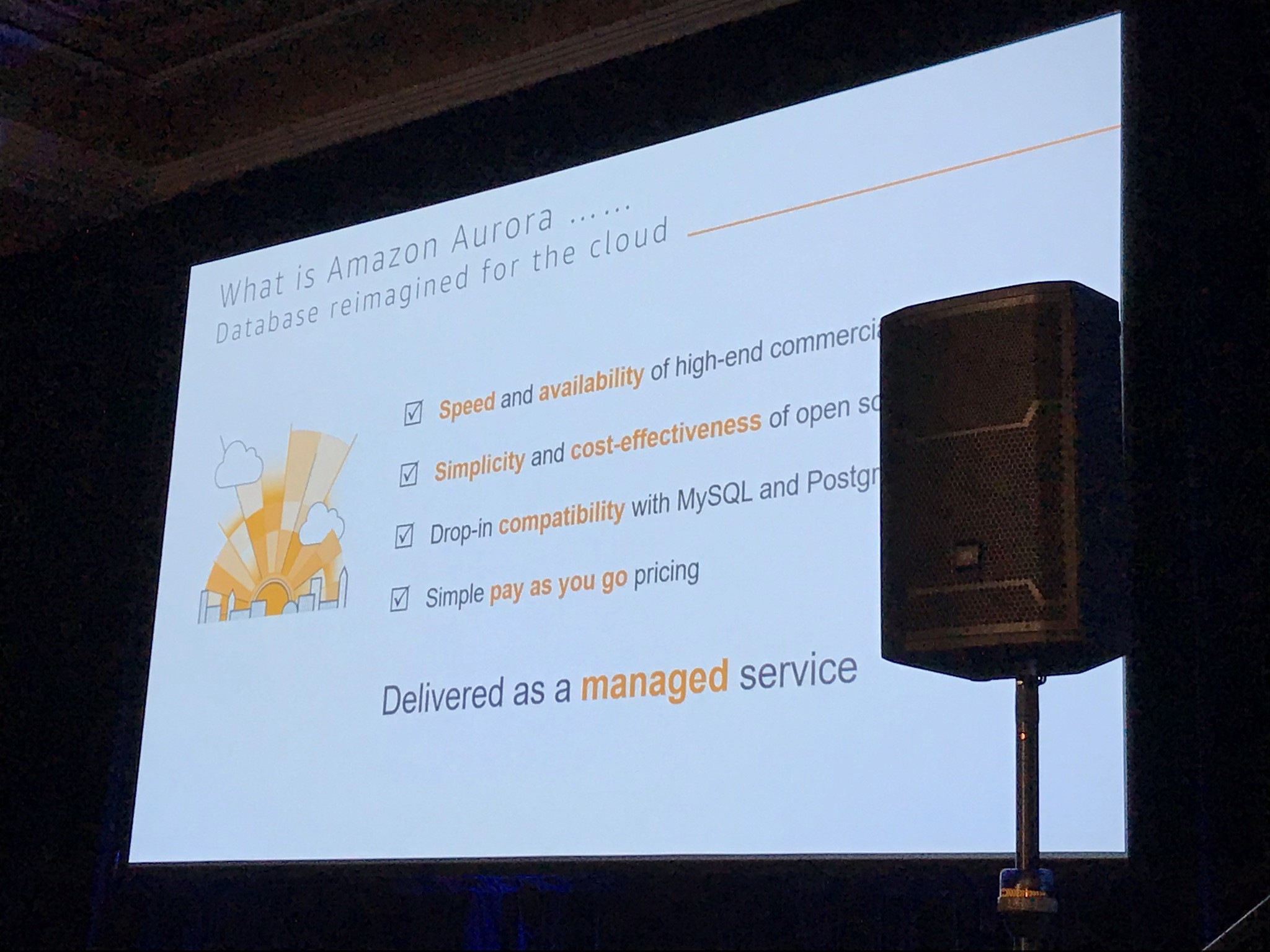 AWS re:invent 2017 — Day 1 - kubecloud