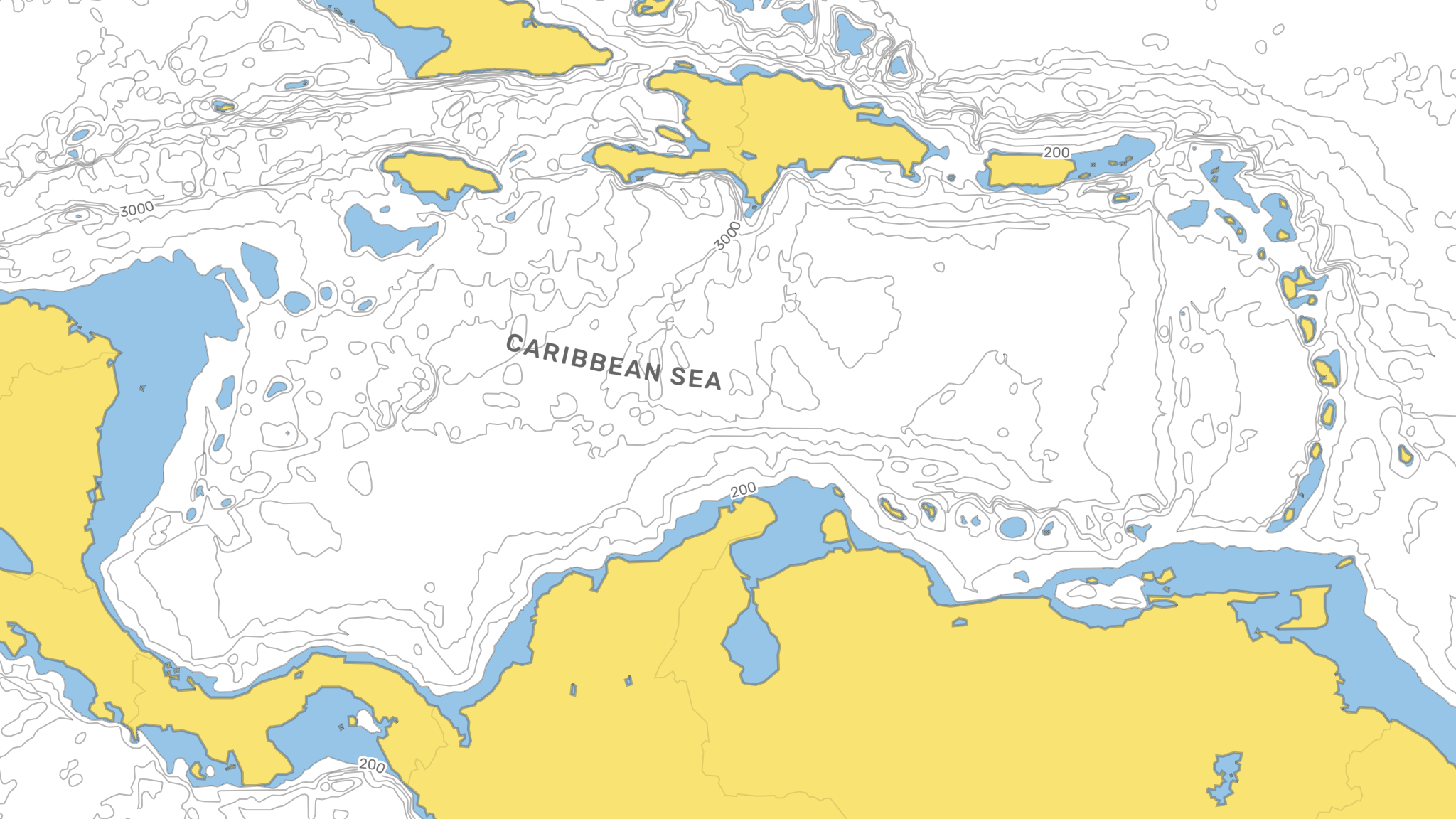 Picture of: Styling Ocean Depth Data In Mapbox Studio By Jan Zak Nightingale Medium