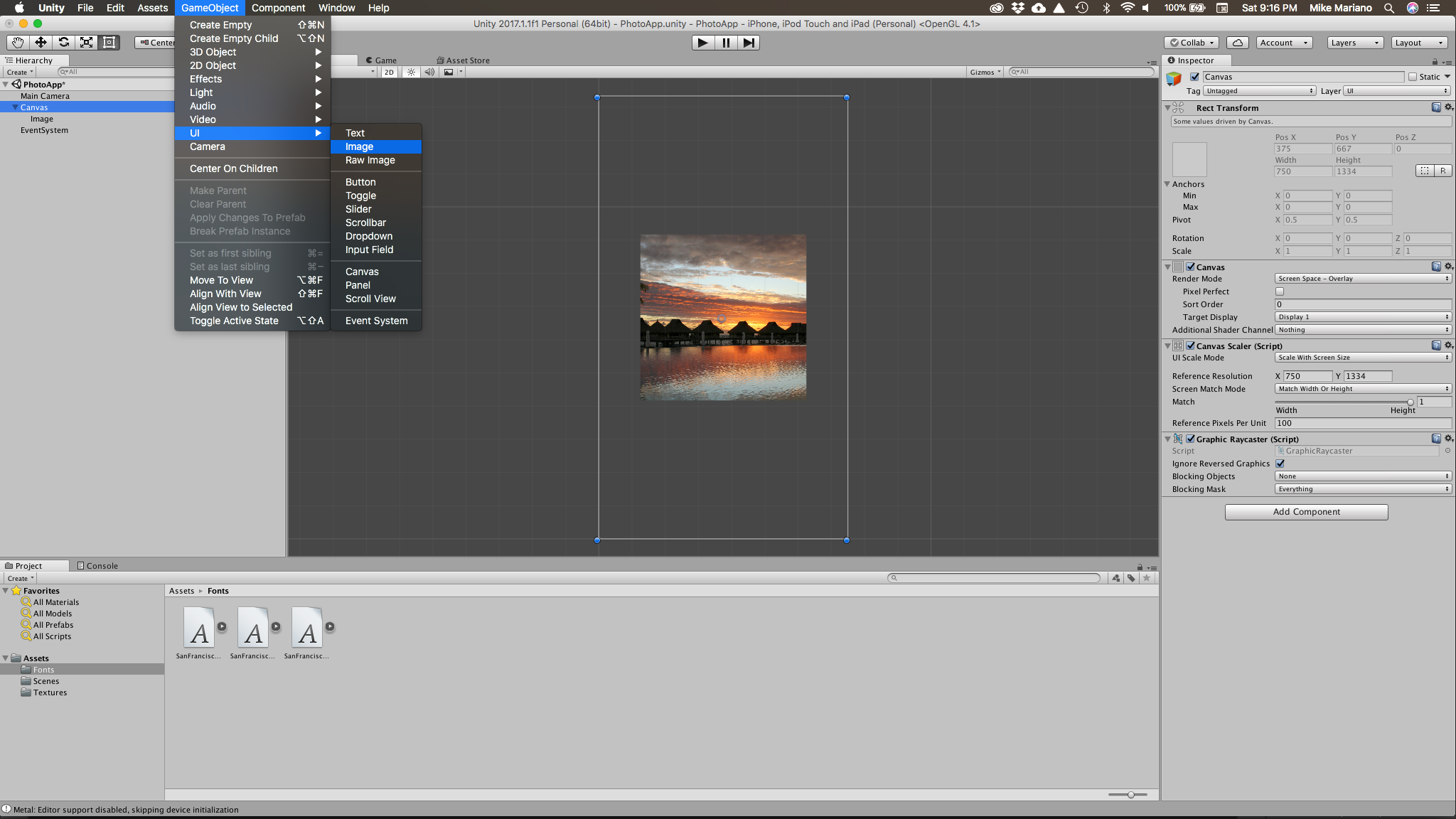 Prototyping UI in Unity Part 4 — Layout Components - Design
