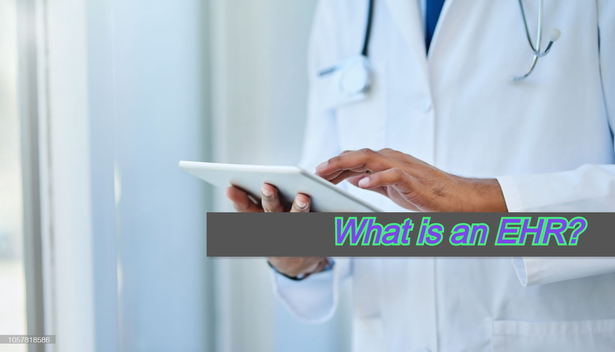 What is an EHR?