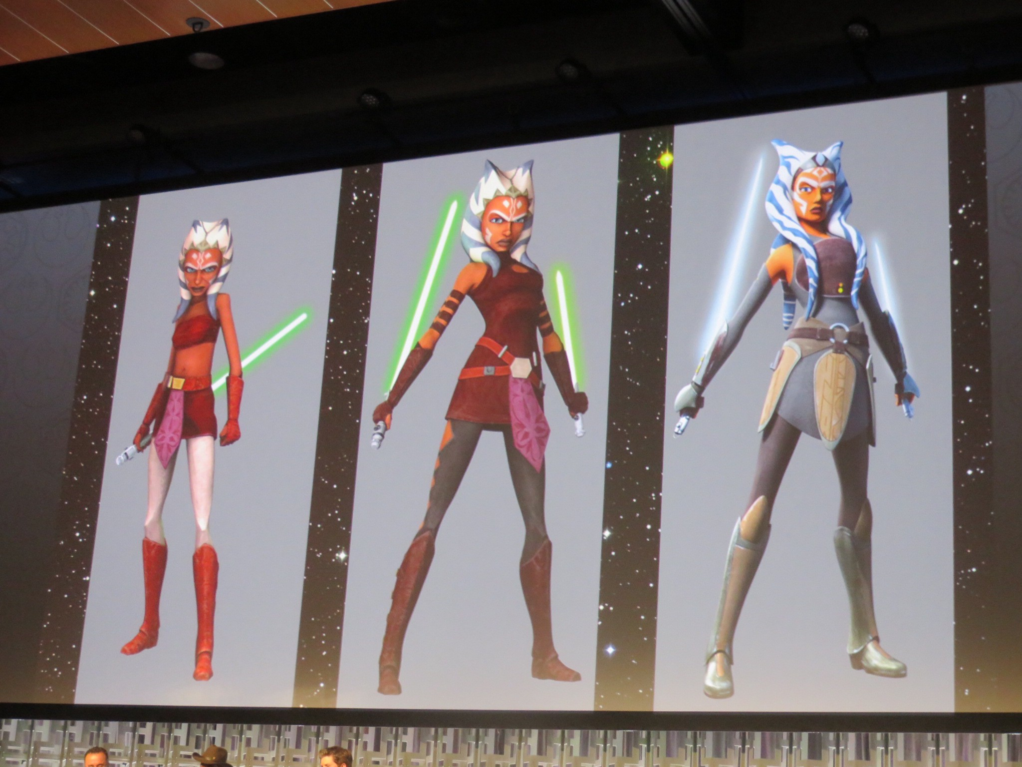 Ahsoka S Design Changes Through The Years By Patty Hammond Medium