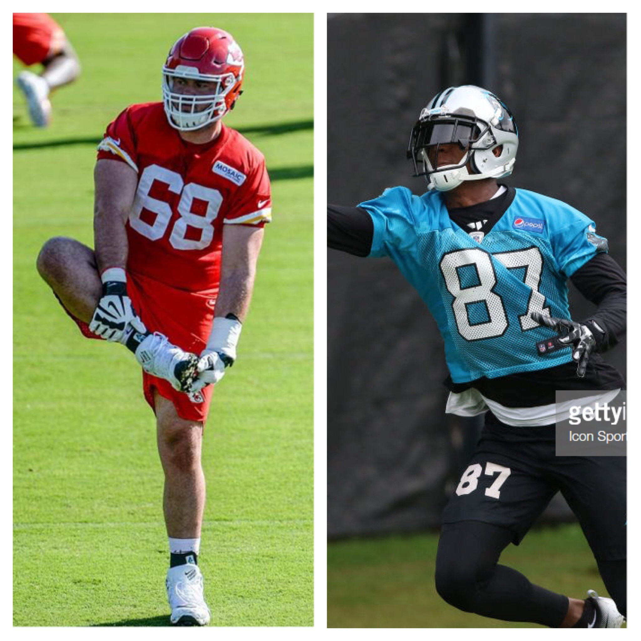 pretty nice 4c1d4 28a4f Heel Tough Blog: NFL Heels Chances to Make Roster - Heel ...