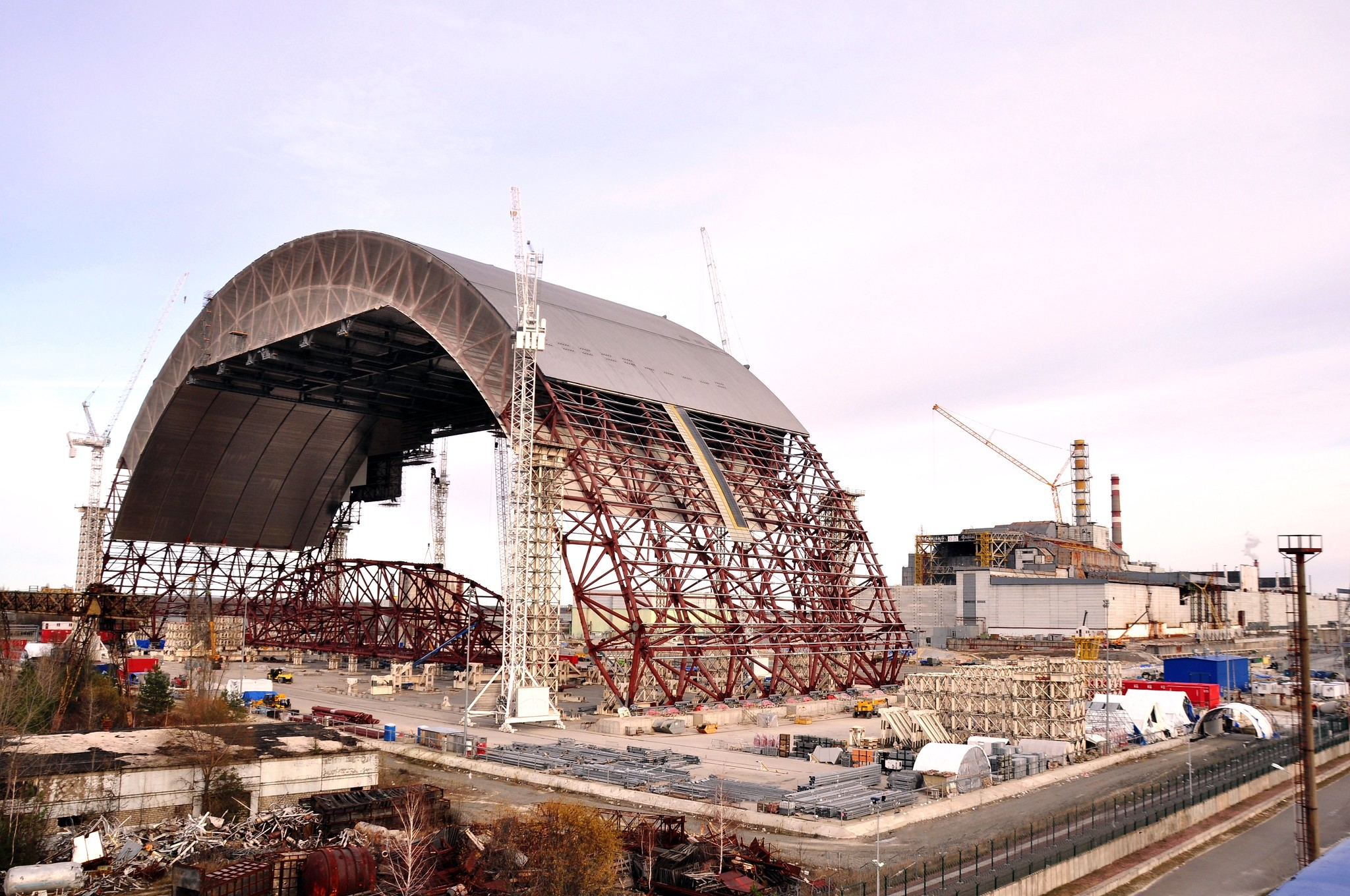 Nearly Three Decades Later, the Chernobyl Site is Contained