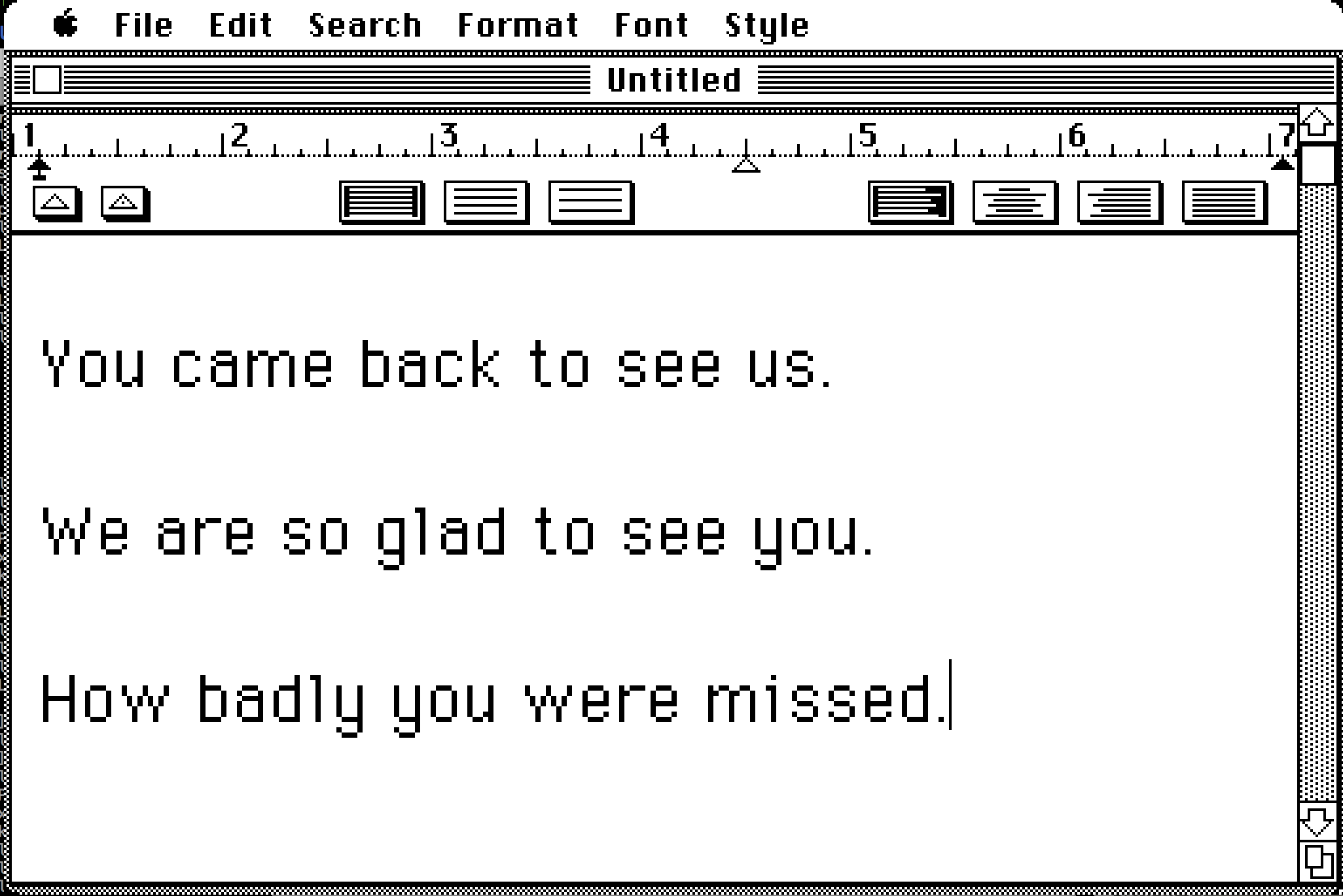 The Sixth Stage of Grief Is Retro-computing - The Message