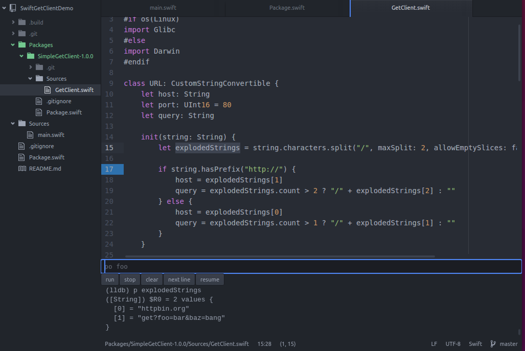 Hacking Atom to create a Swift IDE that runs on Linux and Mac