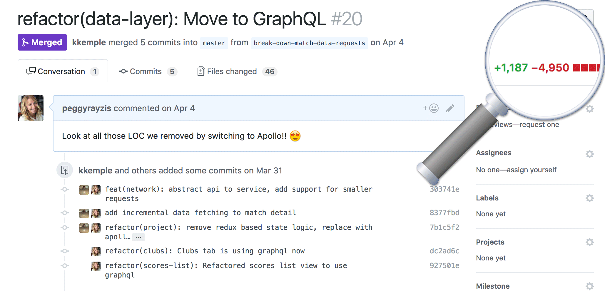 Reducing our Redux code with React Apollo - Apollo GraphQL