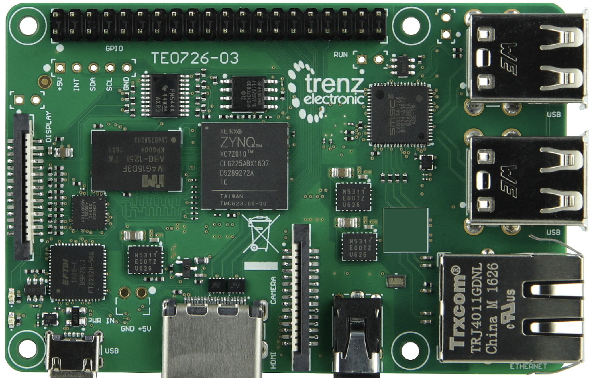 An FPGA Take on the Raspberry Pi: PetaLinux on the ZynqBerry
