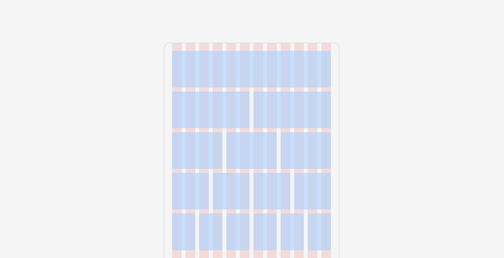 Digging Deep In Layout Grids In Mobile App Design By Andrey Zhulidin Ux Collective