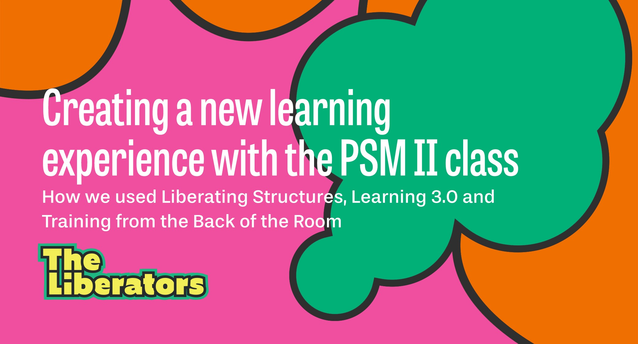 Creating a new learning experience with the PSM II class
