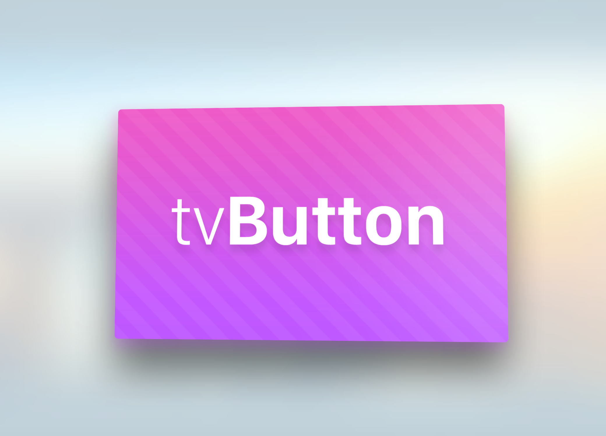 Apple TV-style icons in your iOS app - Swift and iOS Writing