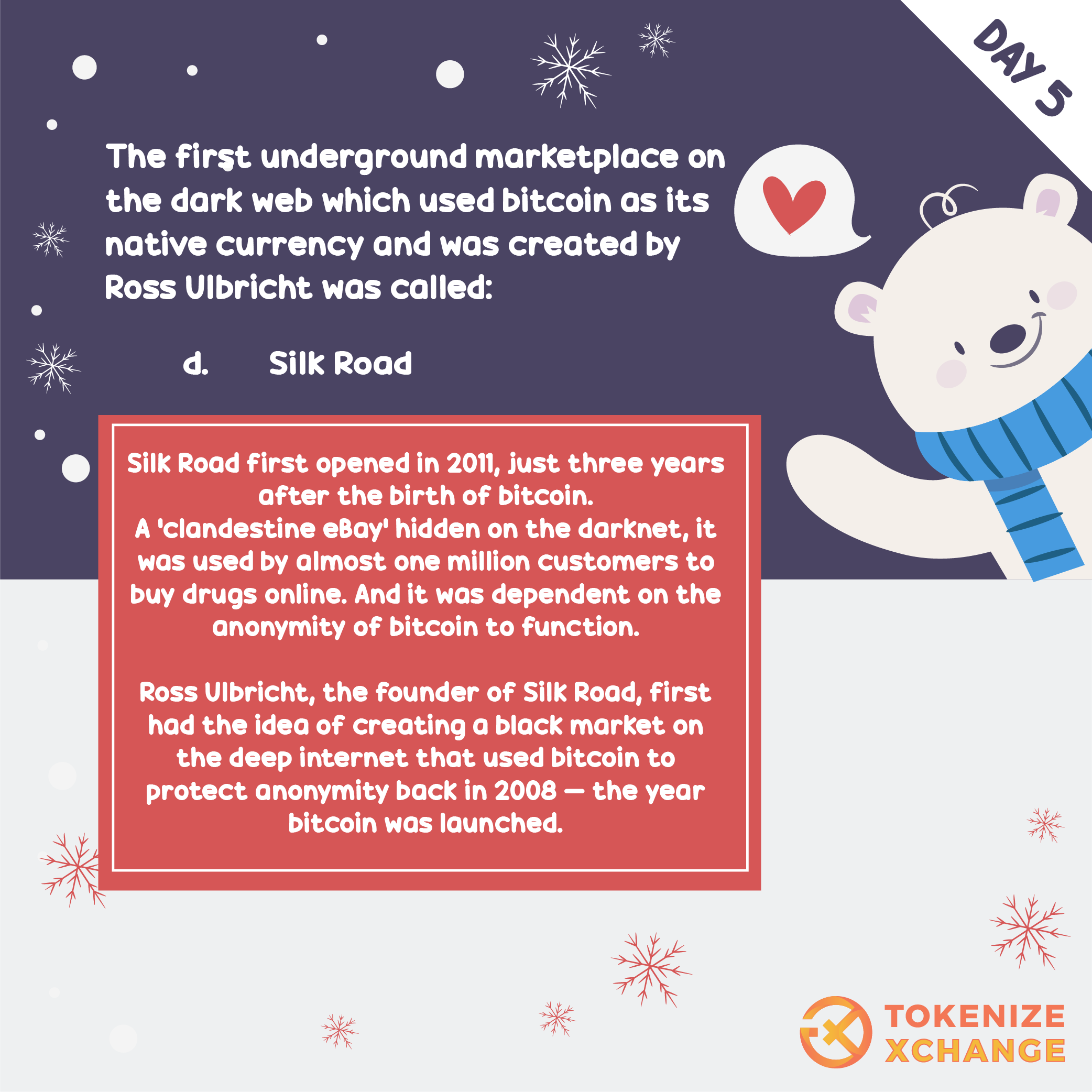 Answers of 12 Days of Bitcoin Competition Questions