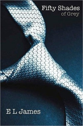 Graphics of book cover of 50 Shades of Grey