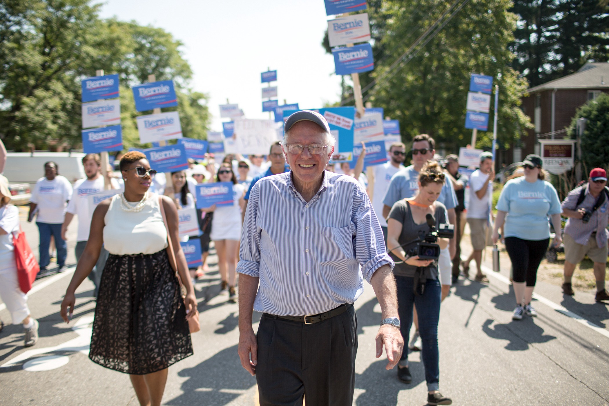 Photo Gallery: The Second 100 Days of the Bernie Sanders