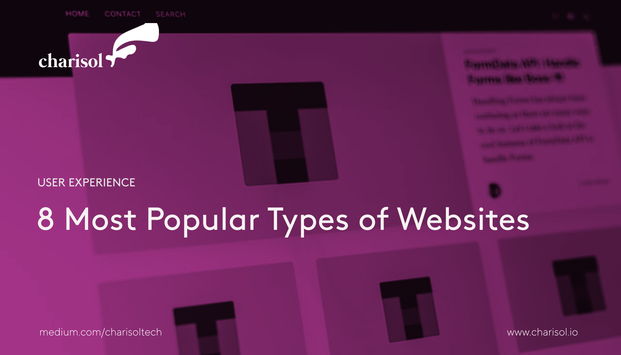8 Most Popular Types of Websites