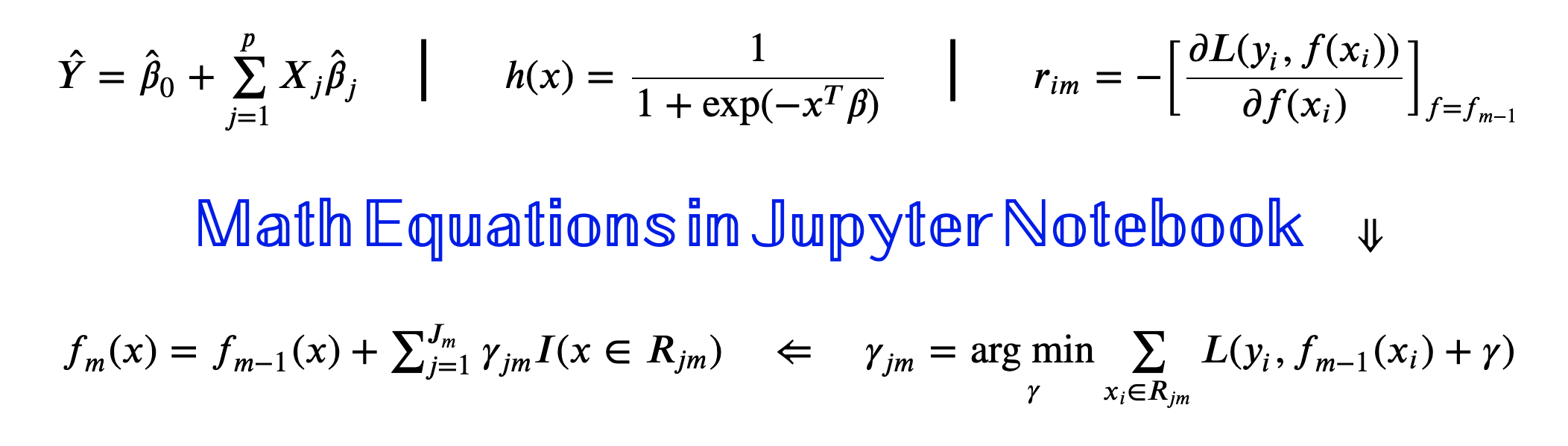 Writing Math Equations In Jupyter Notebook A Naive Introduction By Abhay Shukla Analytics Vidhya Medium