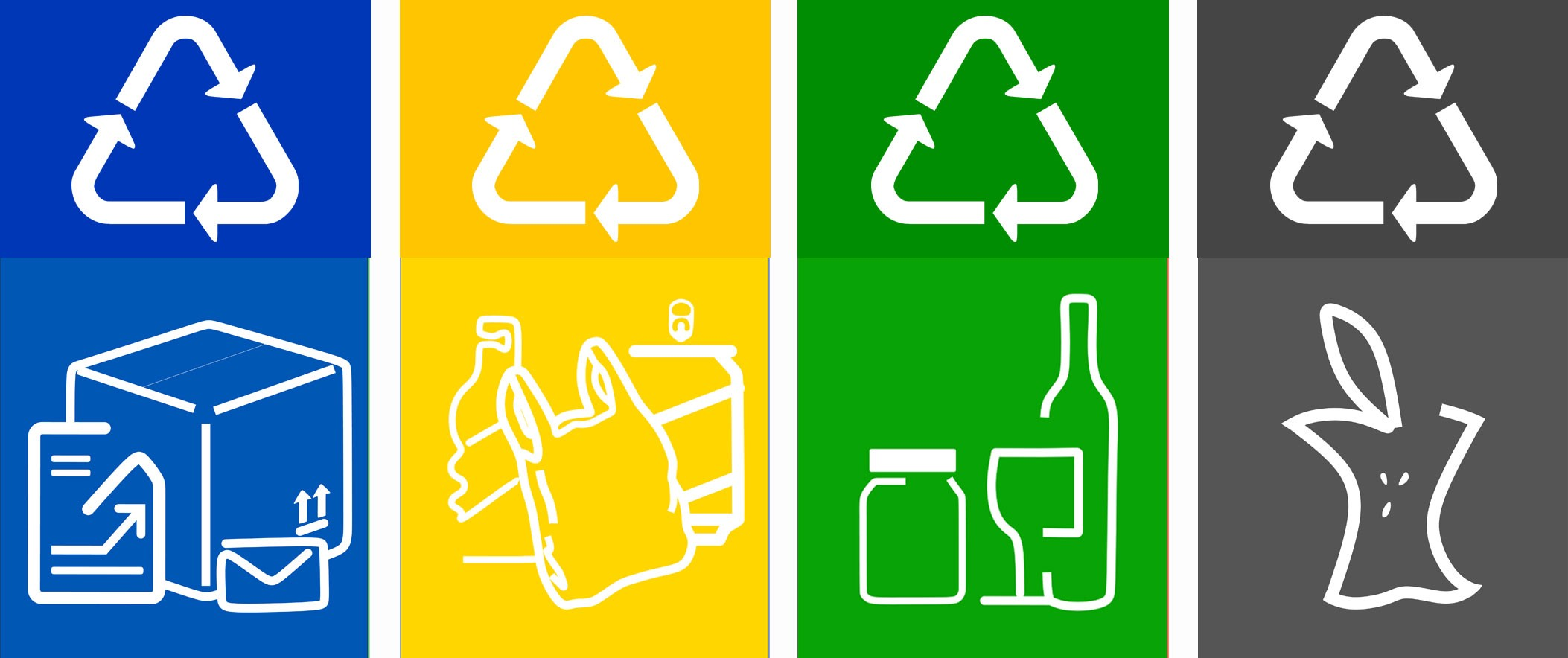 photograph about Printable Recycling Sign called Absolutely free printable recycling labels for packing containers - Razvan D. Toma