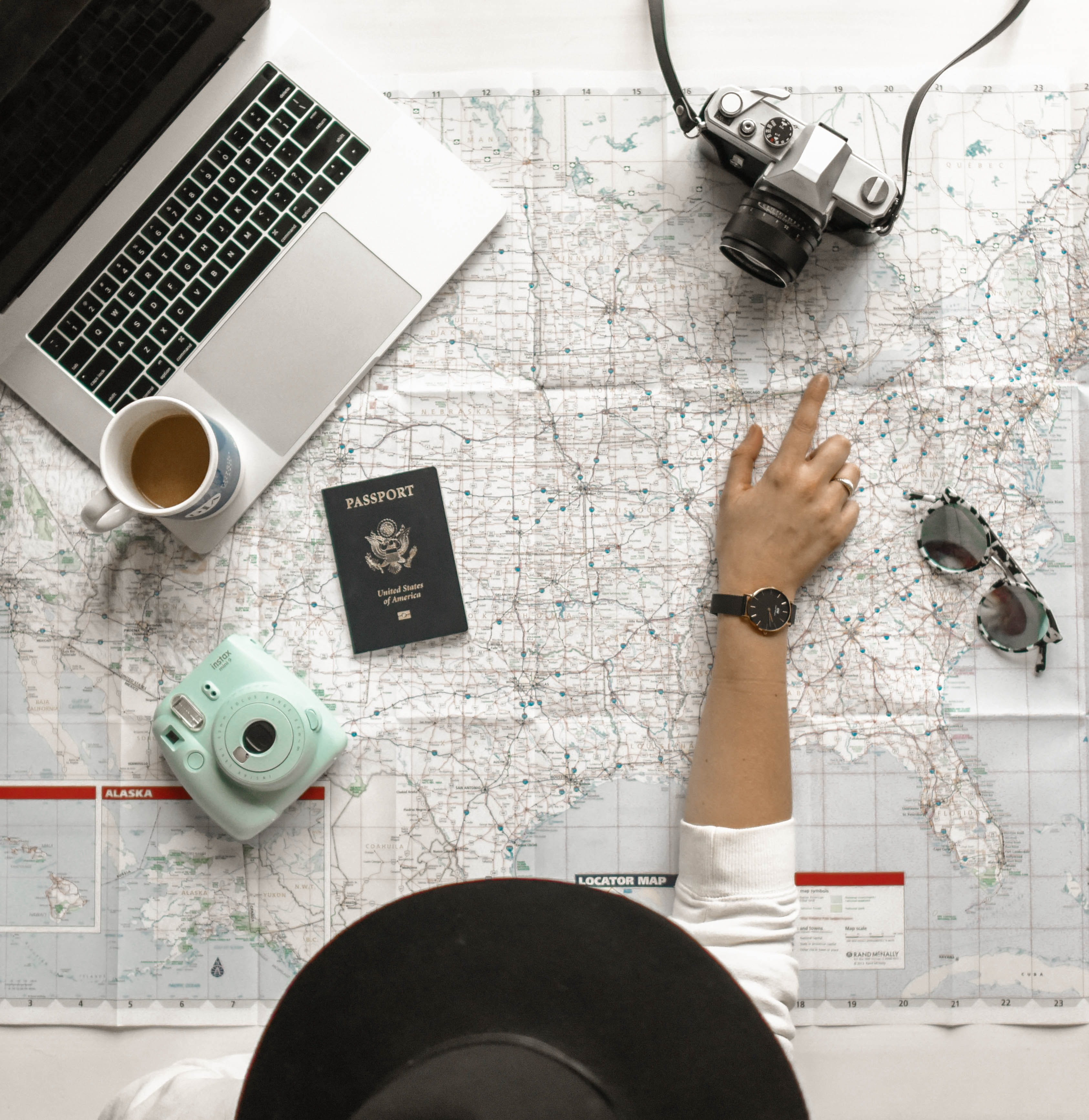 Travel Stats for Personal Dashboard