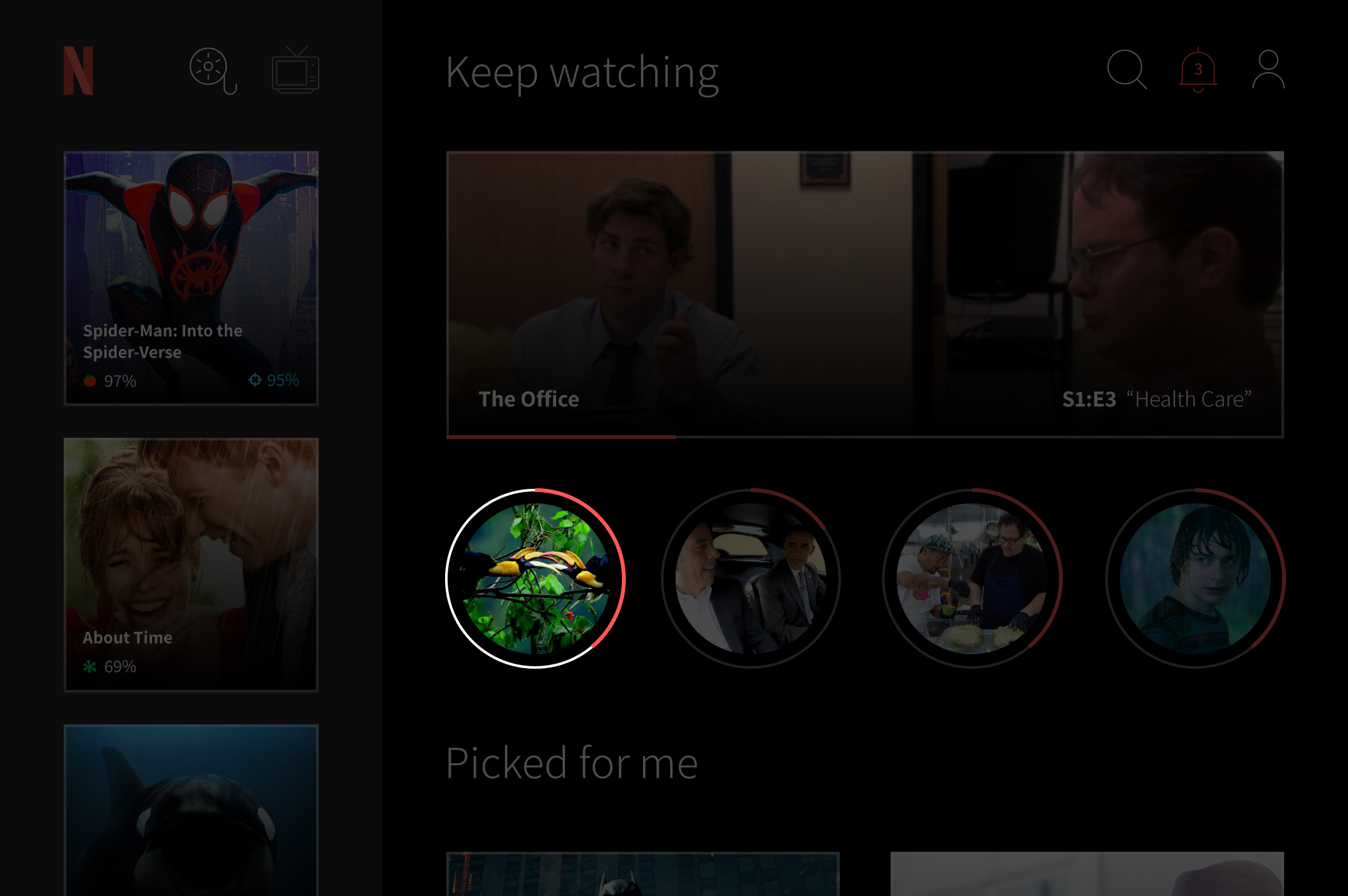 Netflix UI is bad  Here's how I would make it better