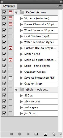 Use Photoshop's Batch Command to Quickly Save Images for Web