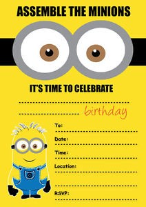 Some Great Ideas For Minion Party Kids Coloringpagesonly