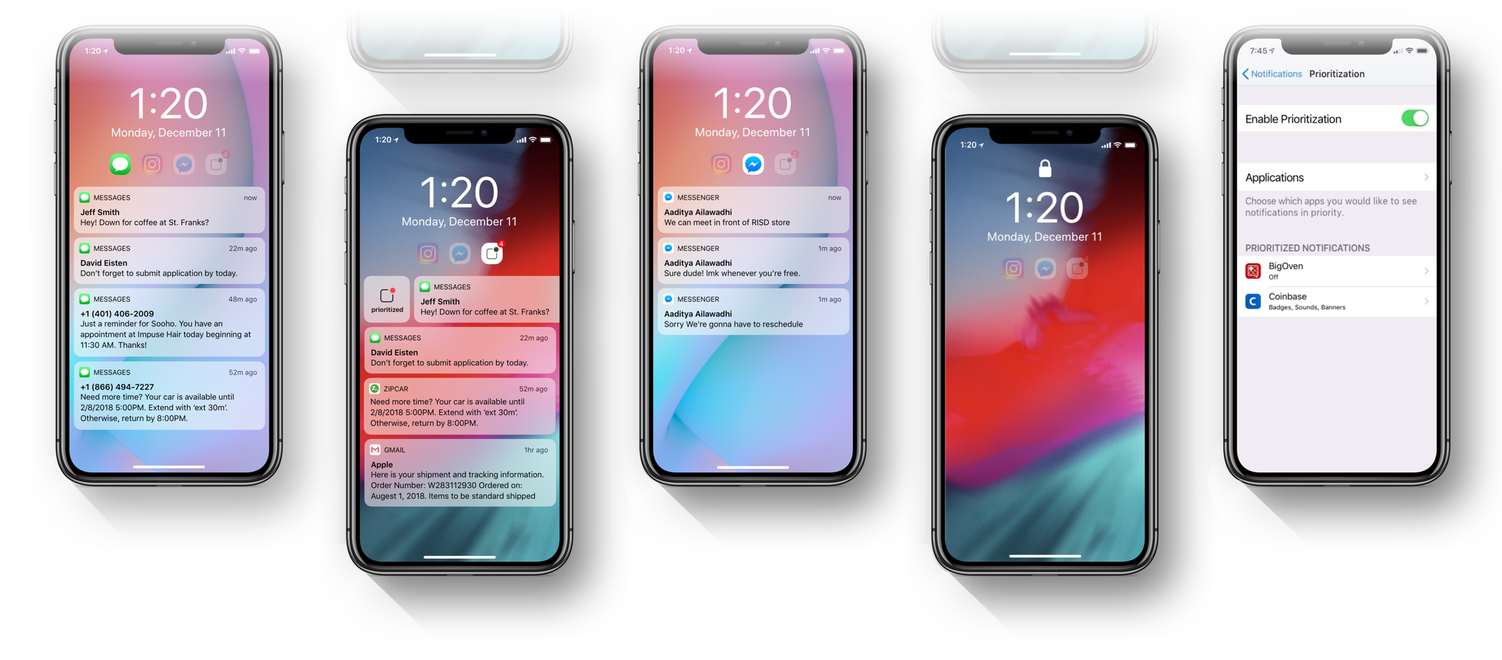 Ios Notification Redesign Concept A Ux Case Study By Sooho Choi Ux Collective
