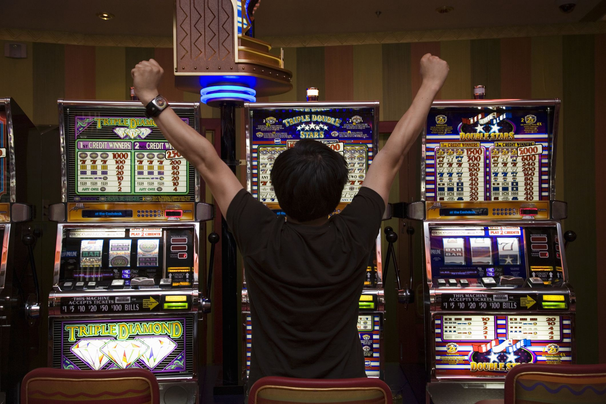 How To Win At Slot Machines In Casinos