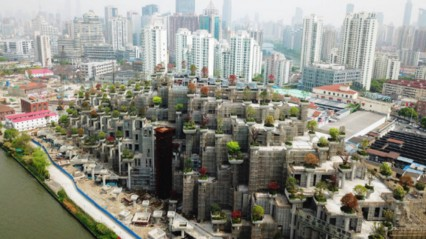 Look Shanghai S Very Own Hanging Gardens Are Really Starting To
