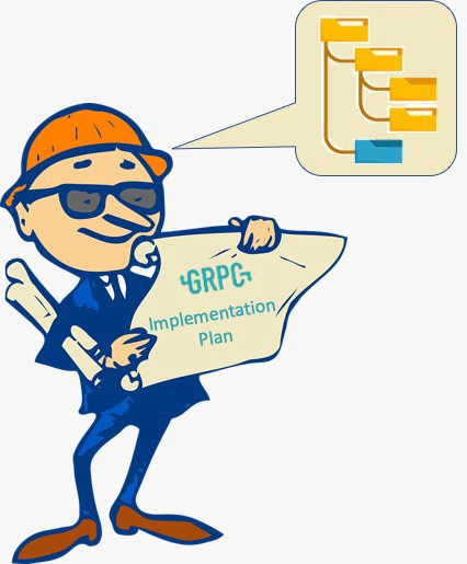 gRPC implementation plan