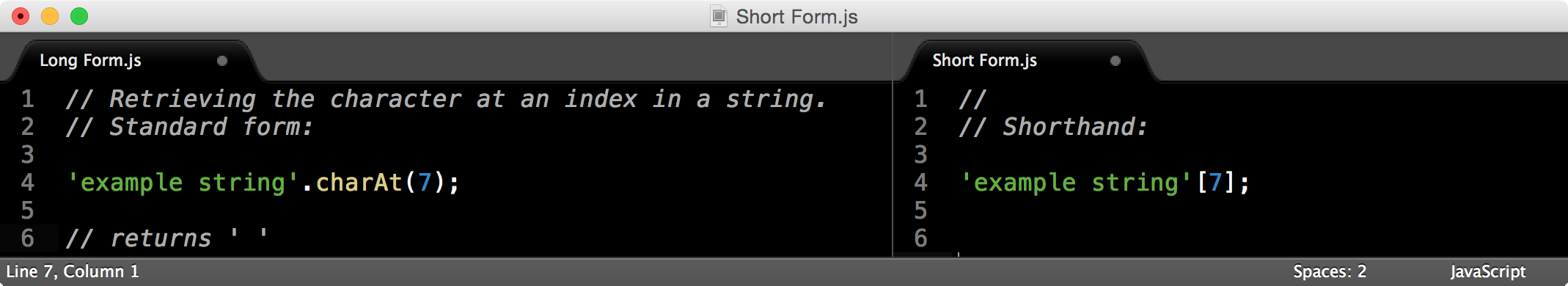 Useful JavaScript shorthand collection - Bits and Pixels