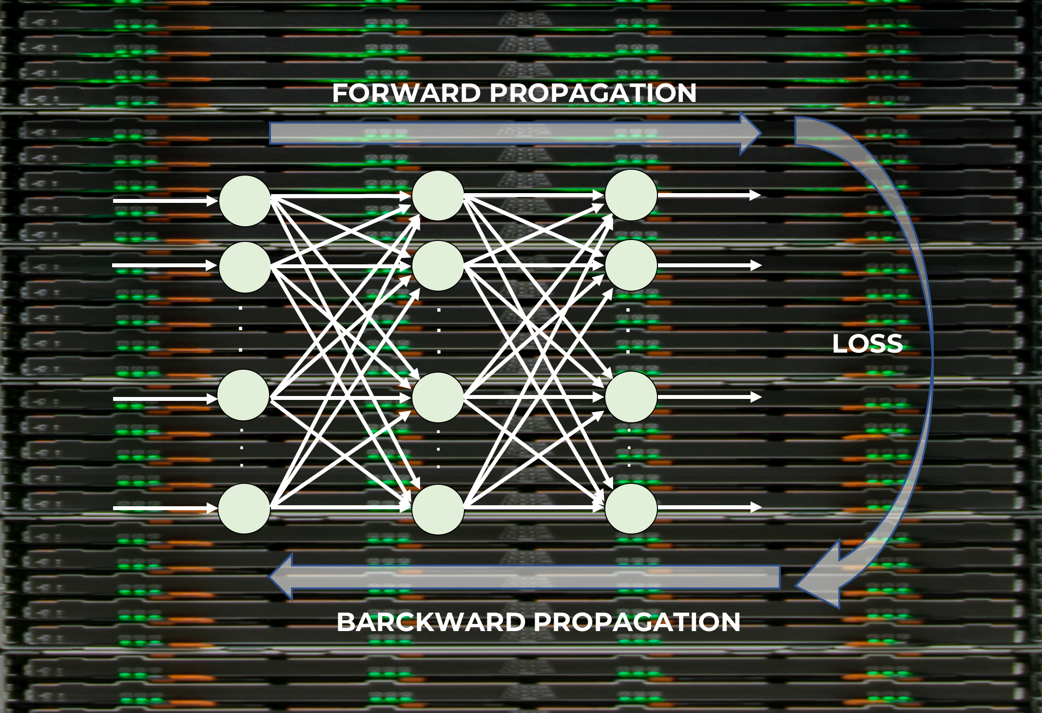 Learning process of a neural network - Towards Data Science