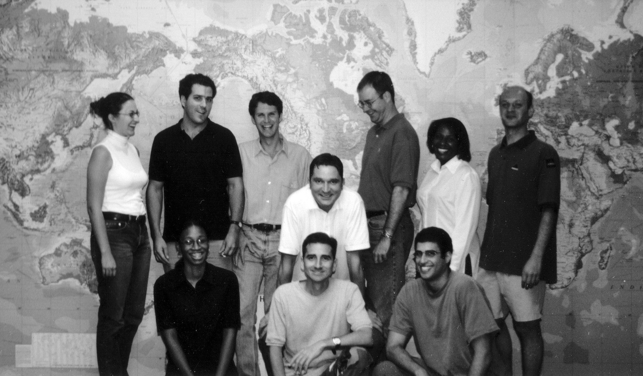 The Map Network team c. 2000