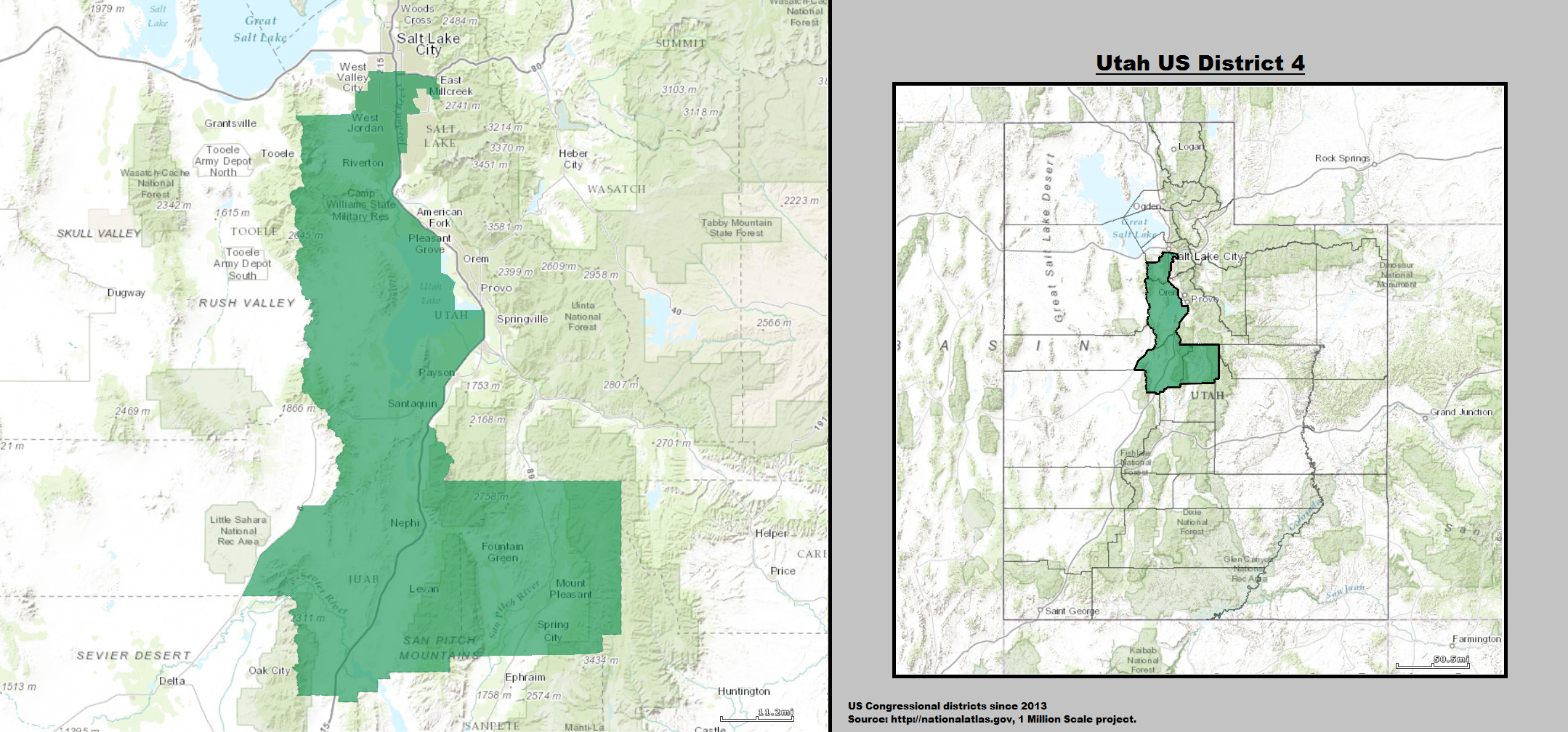 Map Of Georgia 6th Congressional.Utah S 4th Congressional District Is More Winnable Than The Georgia