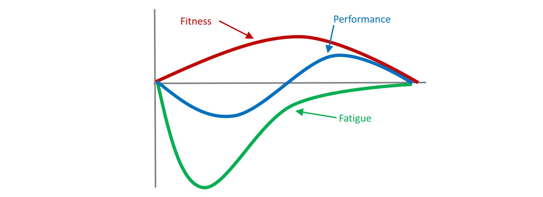 Image result for fitness fatigue model