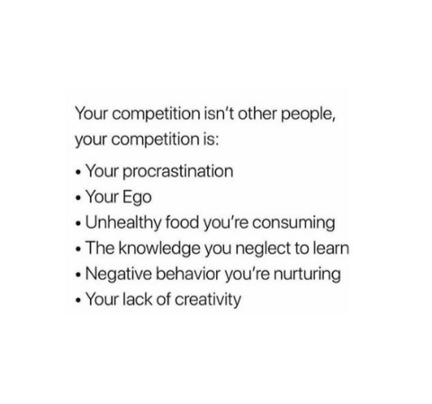 Your own competition