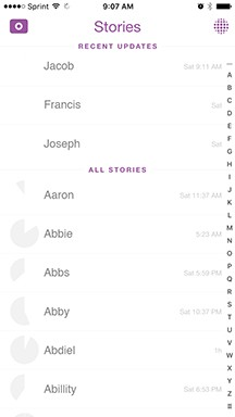 How to Organize your Snapchat List + BONUS - All Things Snap
