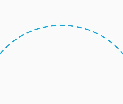 Drawing Curved Dashed Lines In Flutter By Meysam Mahfouzi Medium