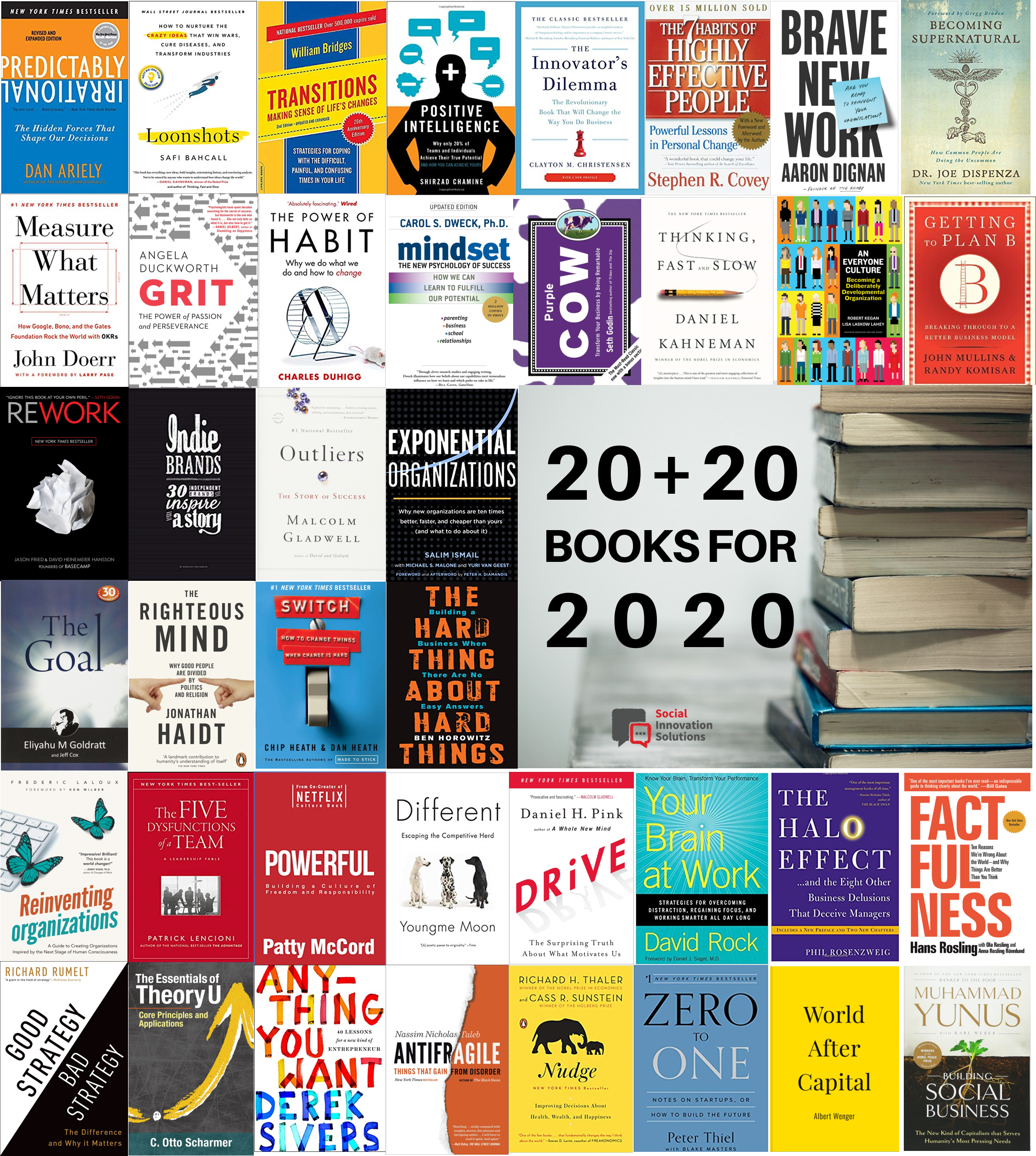 New York Times Best Sellers 2020.20 20 Books For 2020 Ciprian Stanescu Medium