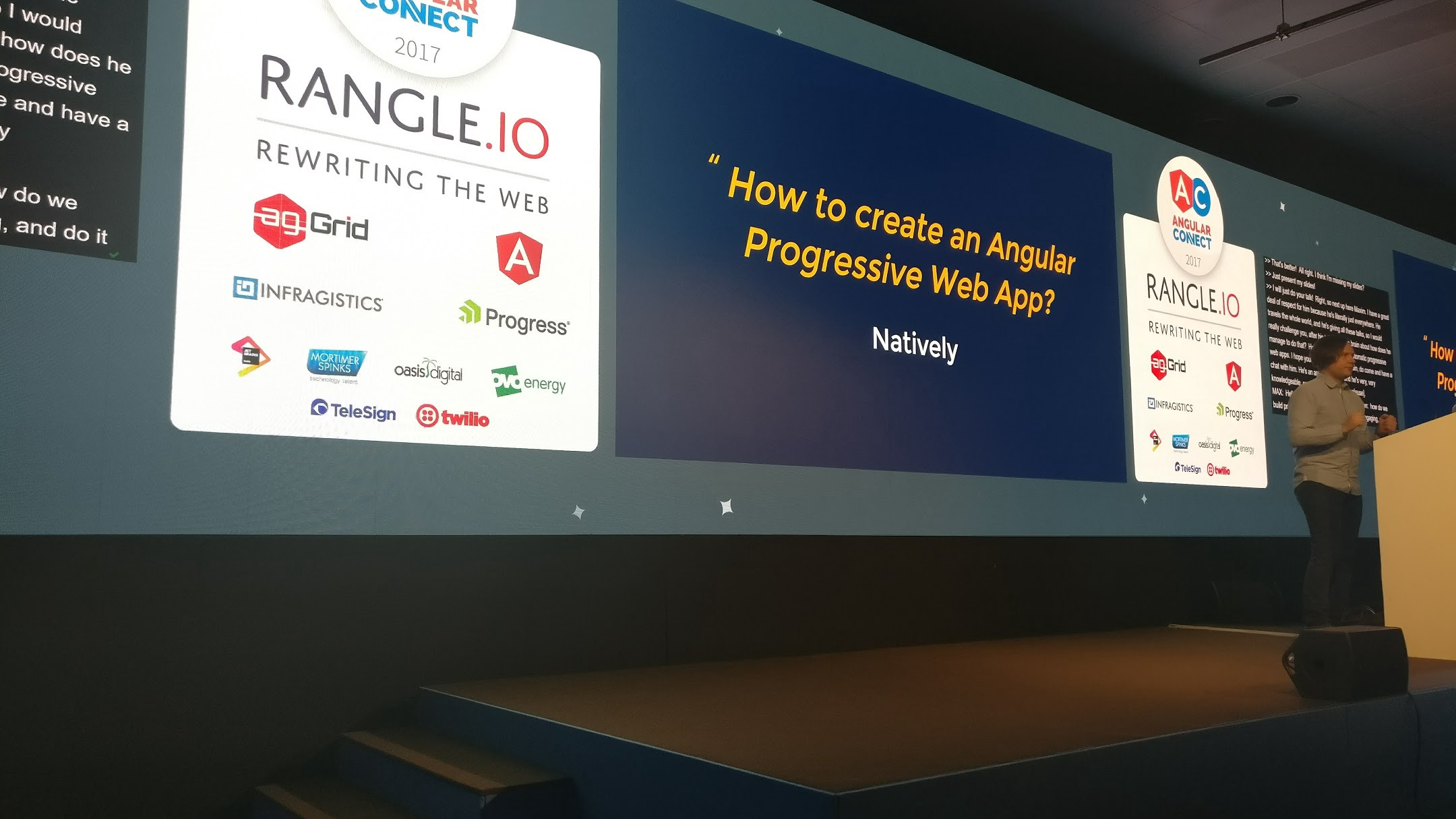 I got invited to Angular Connect, this is my story