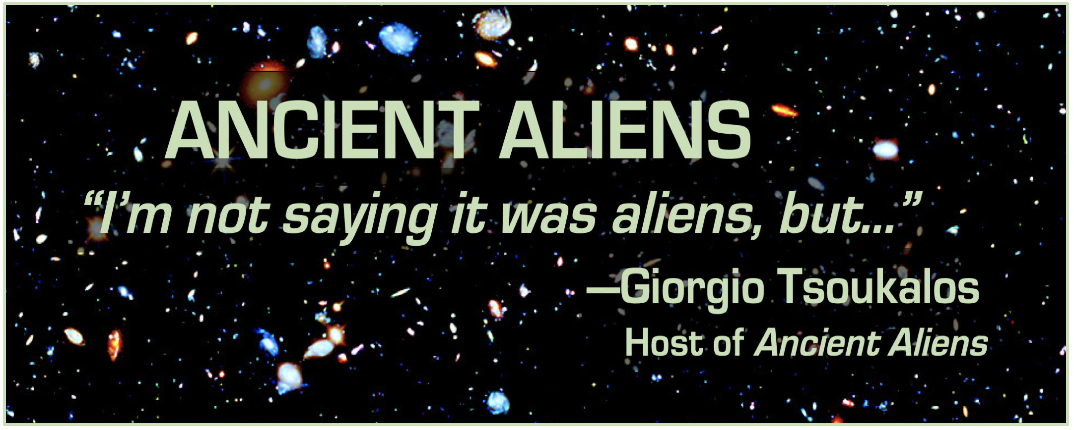 Ancient Aliens: Evidence of Stephen Hawking
