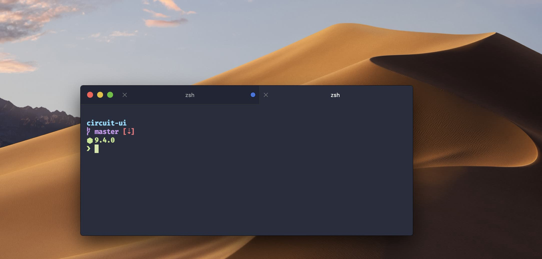 Custom iTerm2 titlebar background colors - Code matters