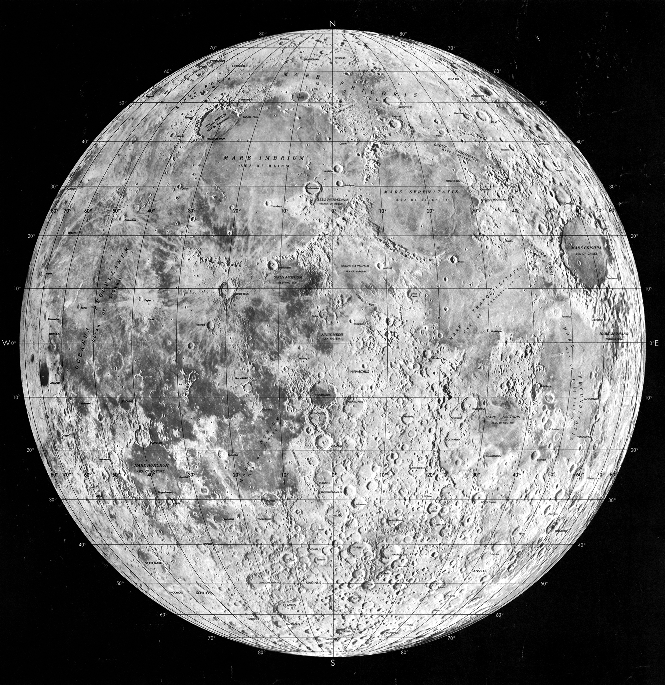 Lunar maps paved way for moon exploration - The Pathfinder ...